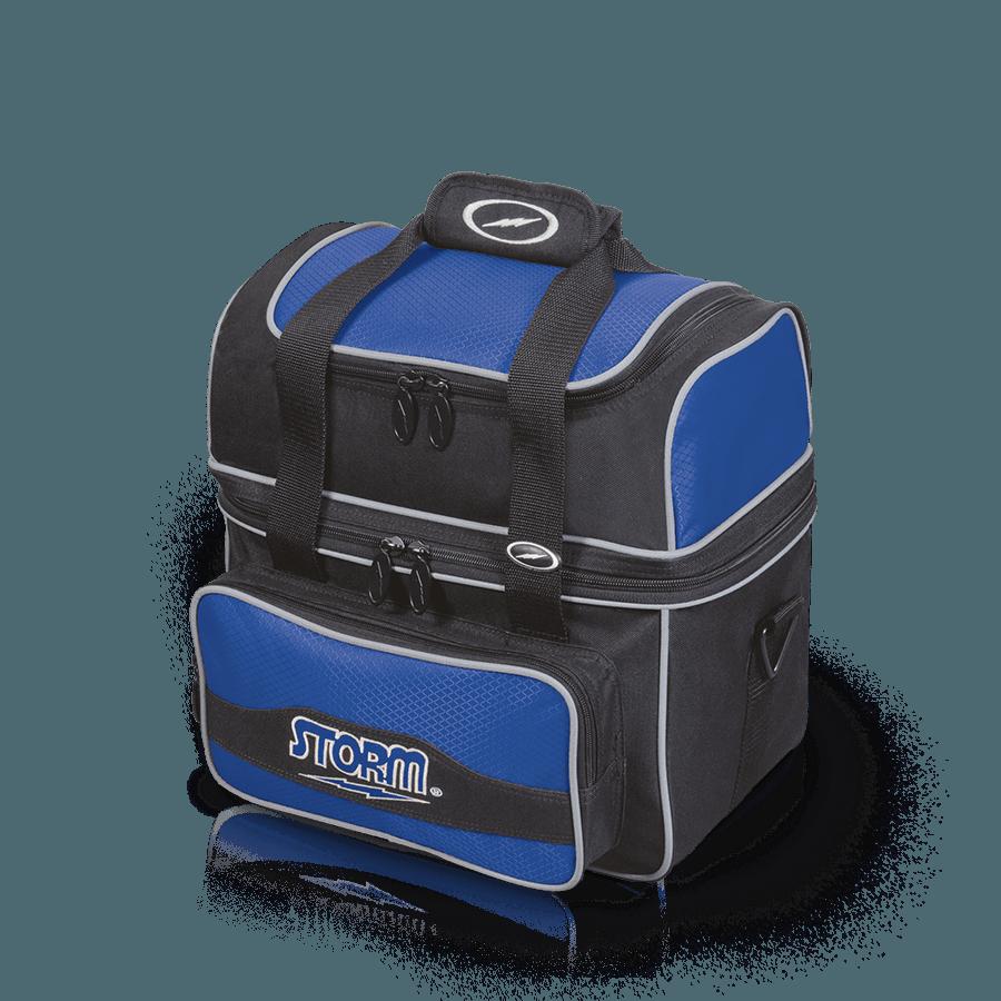 Storm 1 Ball Flip Tote Black/Royal- Bowling Bags
