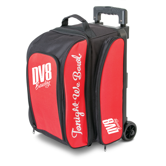 Dv8 Freestyle Double Roller Red Bowling Bag