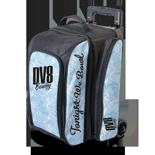 dv8 freestyle double roller blue swirl
