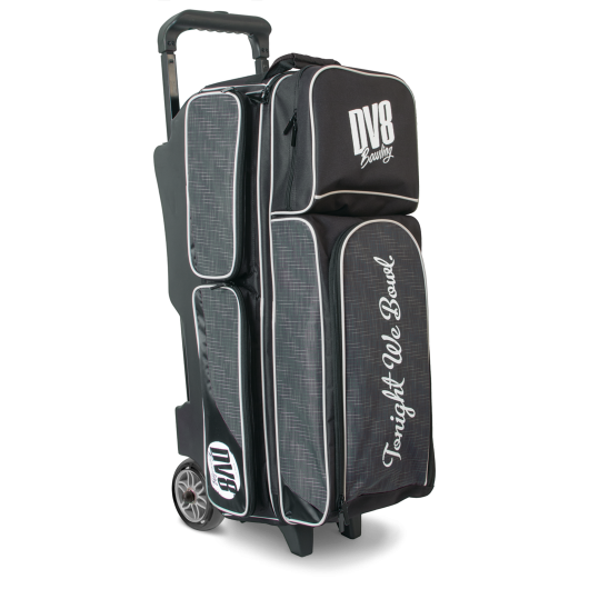 Dv8 Circuit Triple Roller Grey Bowling Bag