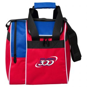 Columbia 300 Single Tote Red White Blue Bowling Bag